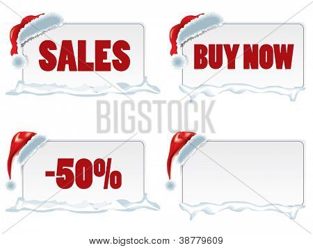 Christmas price tags
