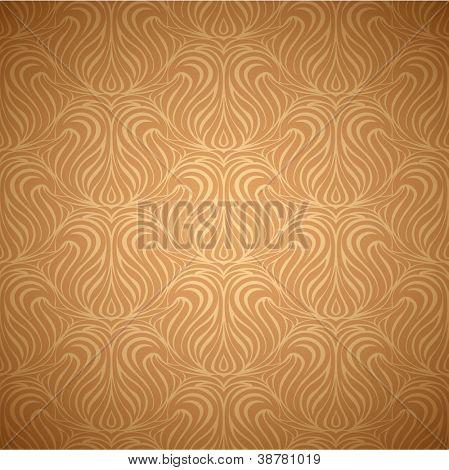 Ornate wallpaper background