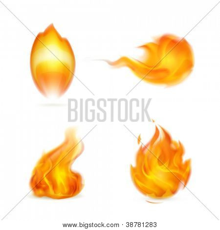 Vlam, vector icon
