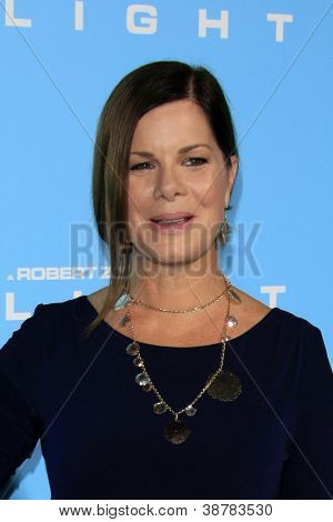 LOS ANGELES - OCT 23:  Marcia Gay Harden arrives at the
