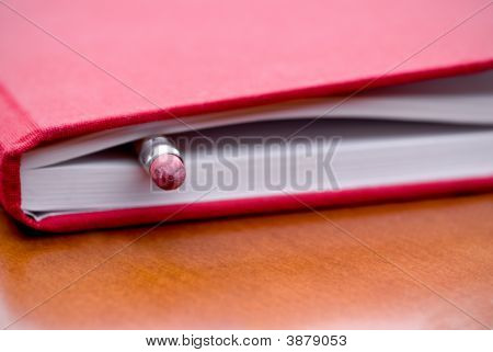 Book With Pencil Inside
