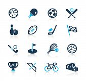 stock photo of trophy  - Sports Icons  - JPG
