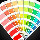 stock photo of veer  - Color palette guide - JPG