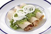 pic of enchiladas  - chicken enchiladas verde - JPG