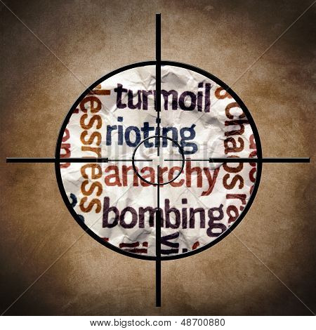 Rioting Anarchy Bombing