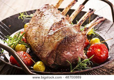 grilled venison carree