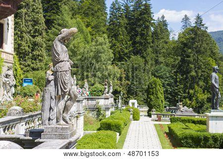 Peles Castle Garden