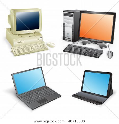 computadora evolución