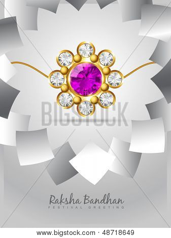 vector stylish rakshabandhan background design
