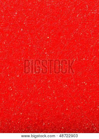 Red Texture Cellulose Foam Sponge Background