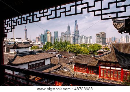 Oude en moderne China