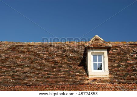 Window Roof And Blue Sky
