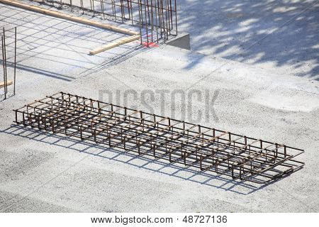 Construction Site Concrete Steel