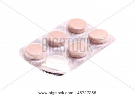 Pills Isolated