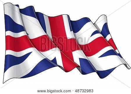 Union Jack 1606�1801 (the King's Colours)