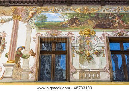 Peles Castle Frescos