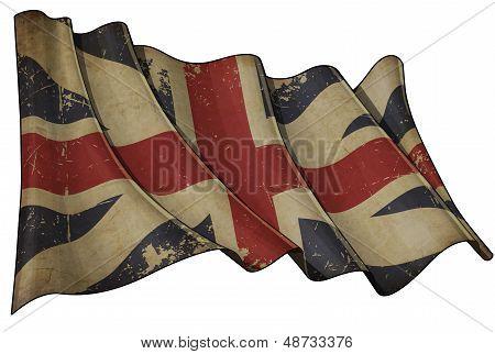 Union Jack 1606�1801 (the King's Colours) Historic Flag