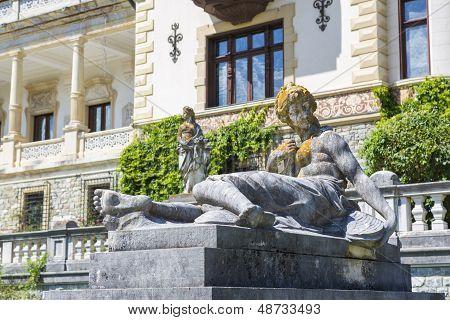 Antique Woman Statue