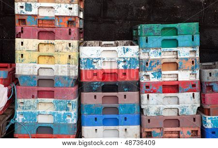 Fish Crates Plastic Boxes