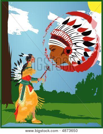 Indian walk