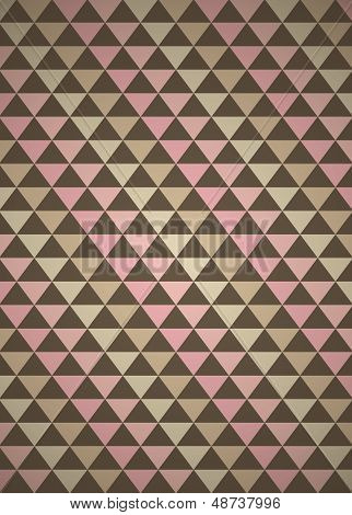 Neapolitan Triangles Seamless Pattern