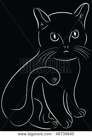 Lineart cat