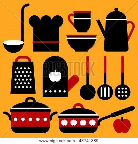 Vector Kitchen Equipment