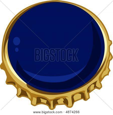 Bottlecap Blue