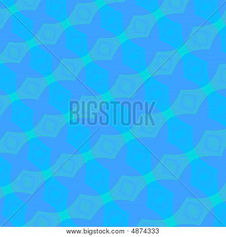 Fractal Pattern In Blue