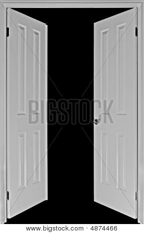 Doors On Black