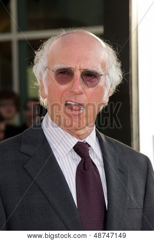 LOS ANGELES - JUL 31:  Larry David arrives at the