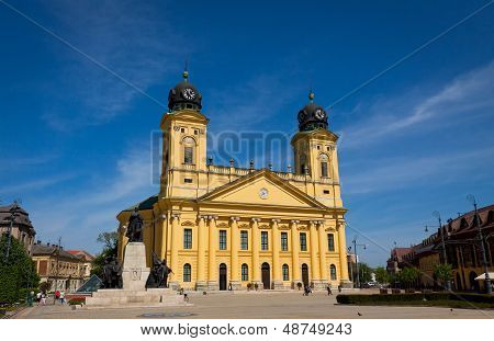 Reformed Great Church In Debrecen