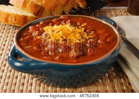 Chili Con Carne With Cornbread