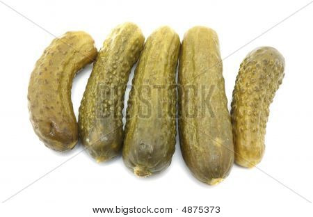 Five Dill Pickles