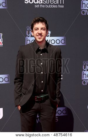 LOS ANGELES - AUG 1:  Christopher Mintz-Plasse arrives at the 2013 Young Hollywood Awards at the Broad Stage on August 1, 2013 in Santa Monica, CA