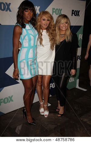 SLOS ANGELES - AUG 1:  Demi Lovato, Paulina Rubio, Kelly Rowland arrives at the Fox All-Star Summer 2013 TCA Party at the SoHo House on August 1, 2013 in West Hollywood, CA