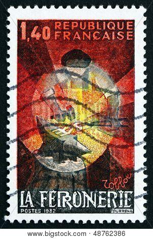 Postage Stamp France 1982 Blacksmith