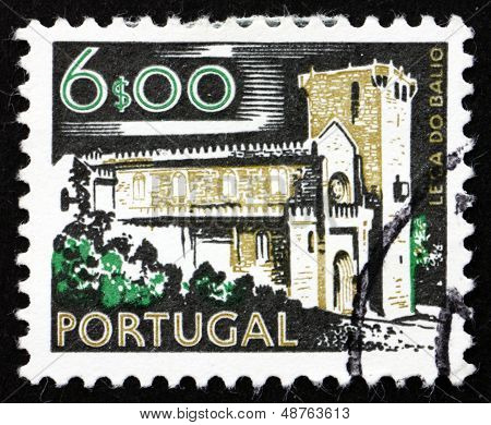 Postage Stamp Portugal 1974 Leca Do Balio Monastery