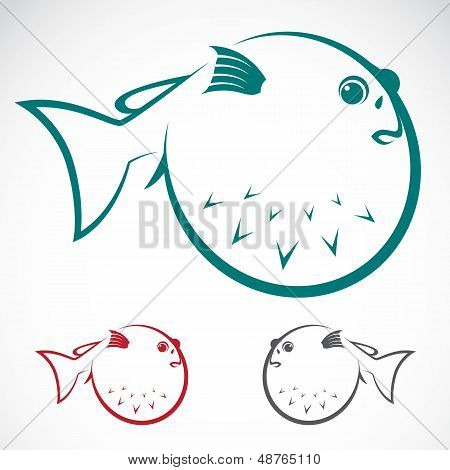 Vector Image Of An Puffer