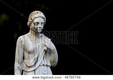 Estátua no parque de Maria Luisa em Sevilha