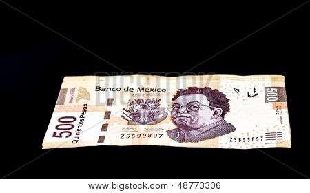 Mexican 500 Pesos