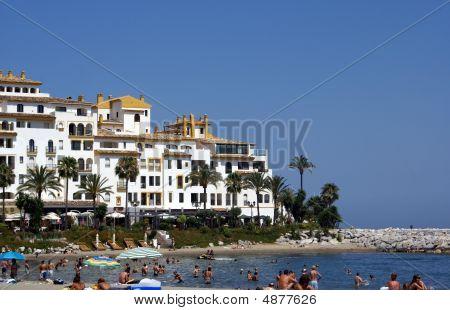 Marbella Beach, Spain, Andalusia