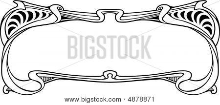 art nouveau border image id 4878871