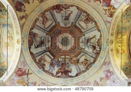 Madonna Del Sasso, Baroque Ceiling