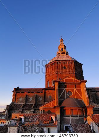 Broletto Cathedral In Pavia
