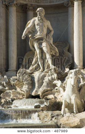 Di Trevi Fountain Details