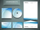 image of letterhead  - Professional corporate identity kit or business kit for your business includes CD Cover - JPG