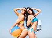 pic of sunbathing woman  - summer holidays - JPG