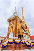 stock photo of crematory  - BANGKOK THAILAND - JULY 12: Thai Crematory in Bangkok Thailand on 