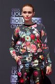 LOS ANGELES - AUG 1:  Holland Roden arrives at the 2013 Young Hollywood Awards at the Broad Stage on